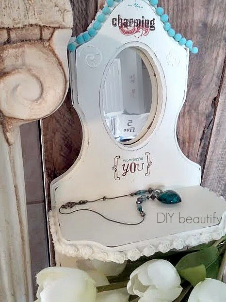 Charming Mirror Makeover