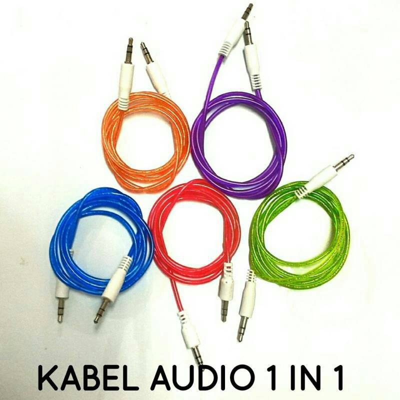KABEL AUX AUDIO 1IN1
