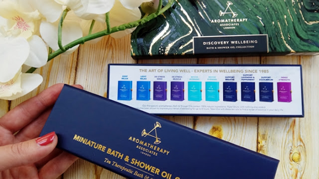 Bath & Shower Oils Aromatherapy Associates