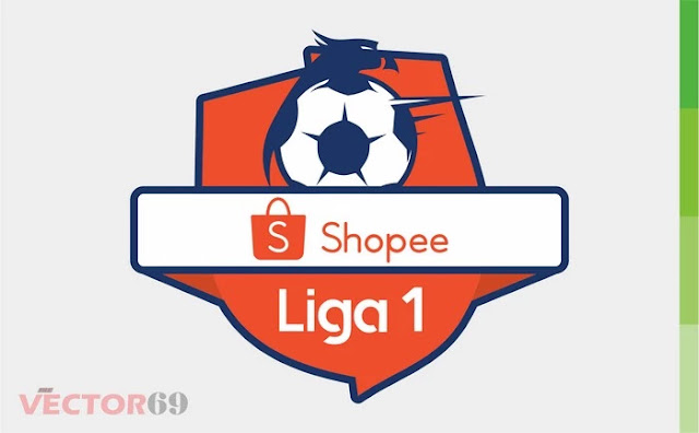 Logo Shopee Liga 1 Indonesia - Download Vector File CDR (CorelDraw)