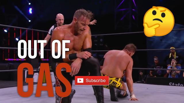 Christian Cage was GASSED in his Debut Match (AEW)
