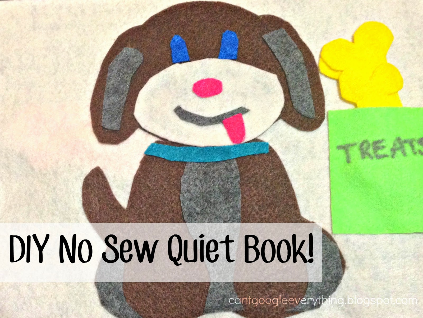 DIY No Sew Quiet Book Ideas!