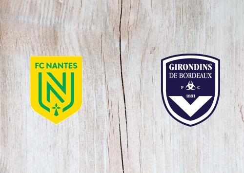 Nantes vs Bordeaux -Highlights 26 January 2020