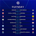 UEFA Champions League Fixtures This Week