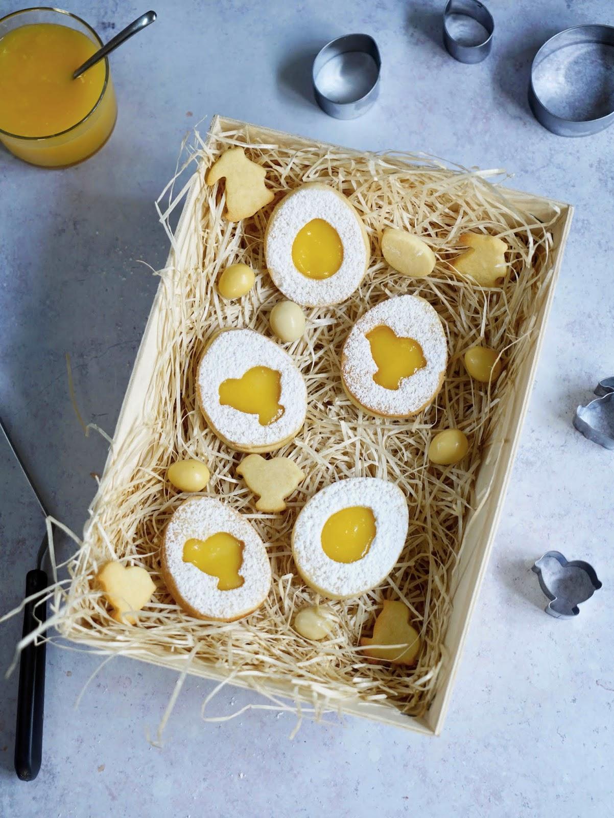 gâteaux , bredele de Pâques , lemon curd , curd de citron