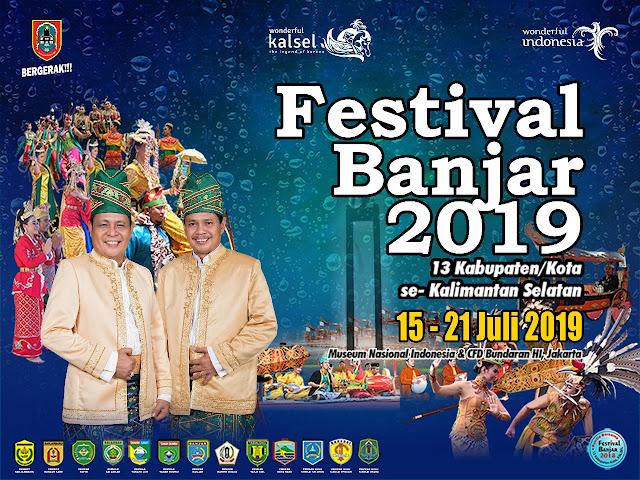 Festival Budaya Banjar 2019 Kembali Digelar di Jakarta