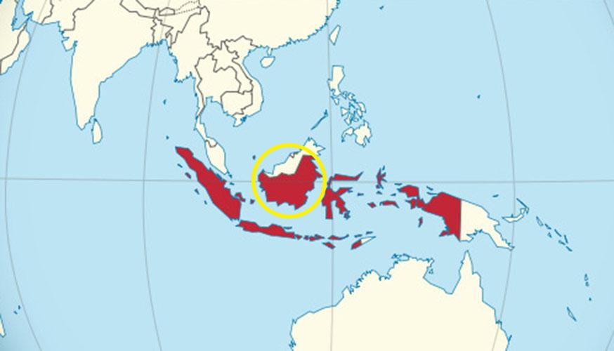 tanda kiamat muncul di Kalimantan