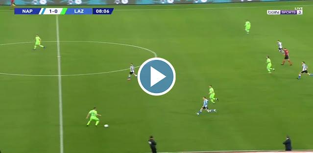 Napoli vs Lazio Live Score