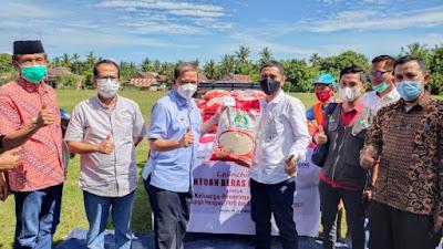 Pemkab Wajo Launching Penyaluran Beras PPKM