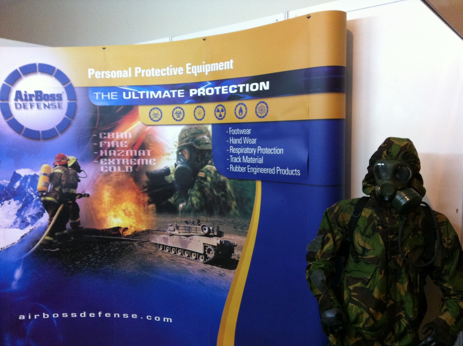 MILITARY TECHNOLOGY: DSA 2012 - AirBoss Defence's Extreme