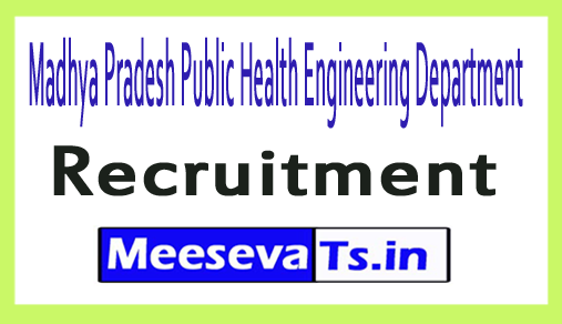 Madhya Pradesh Public Health Engineering Department MPPHED Recruitment