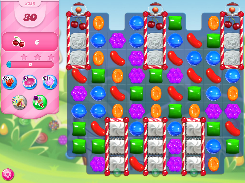 Candy Crush Saga level 3258