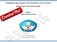 Download Modul Materi Pedagogik Sumber Belajar Penunjang PLPG Tahun 2016