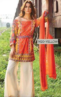 Motifz Embroidered Lawn Mid-Summer Collection 2016-2017 Vol-3