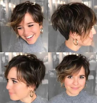 6 Super Cute Looks with Short Hairstyles for Round Faces