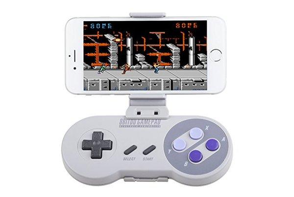 Control de Super Nintendo te dejará jugar desde tu Celular