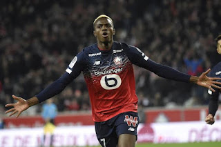 Lille president prepared to reduce the asking price of Nigerian attacker Victor Osimhen