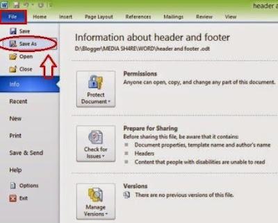 Mengubah File Office Word 2010 Menjadi PDF