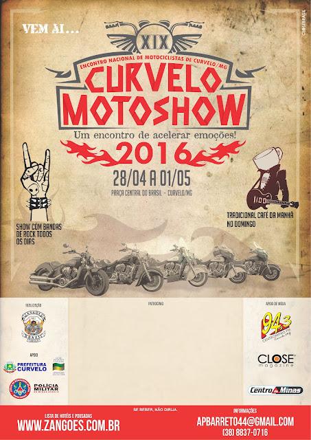 Curvelo Motoshow 2016 - 19º Encontro Nacional de Motociclistas
