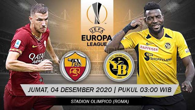 Prediksi AS Roma Vs Young Boys, Jumat 04 Desember 2020 Pukul 03.00 WIB