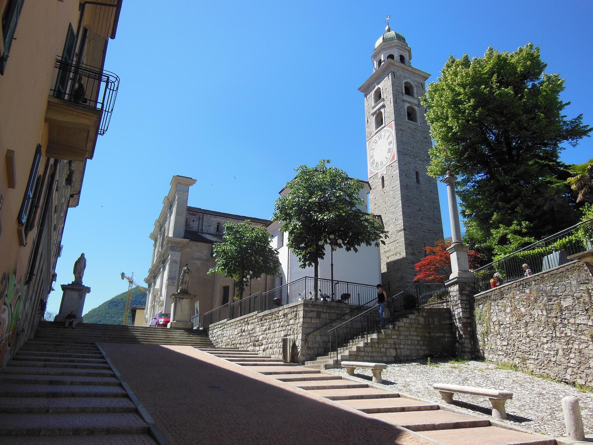 Собор Сан-Лоренцо в Лугано, Швейцария