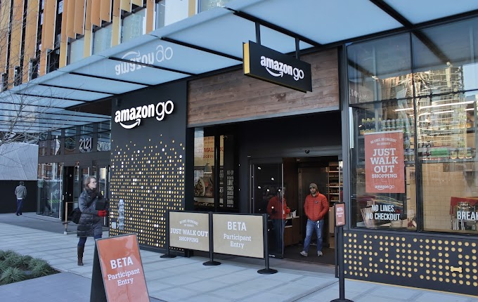 Amazon With Advanced Shopping Technology; Amazon go