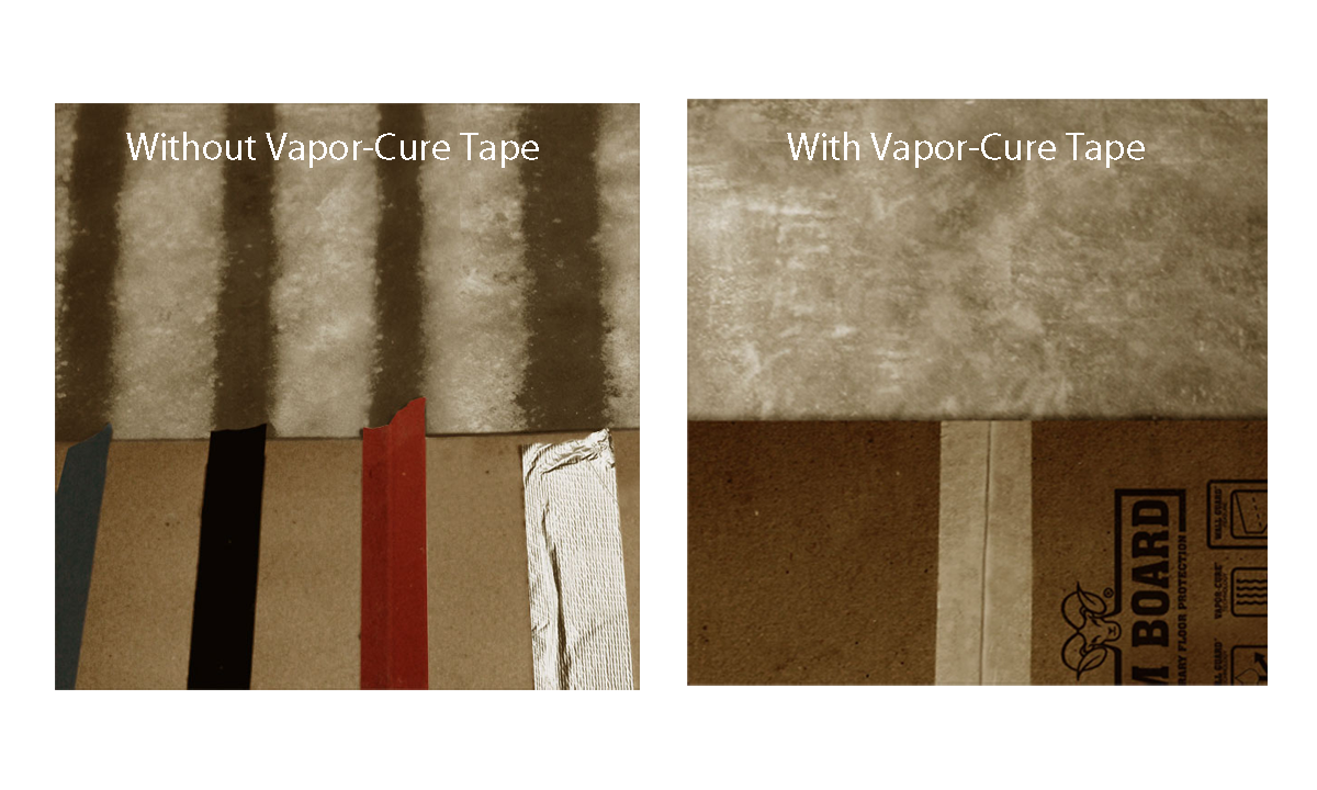 New Product From Ram Board Vapor Cure Tape