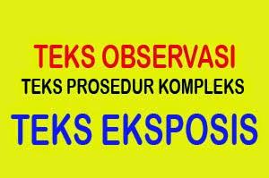 Teks Observasi Teks Prosedur Kompleks Teks Eksposisi Bnet Purwoharjo