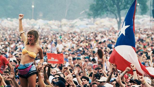 A 50 años del último día del Festival de Woodstock.