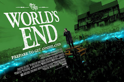 San Diego Comic-Con 2019 Exclusive The World's End Movie Poster Screen Print by Jock x Mondo