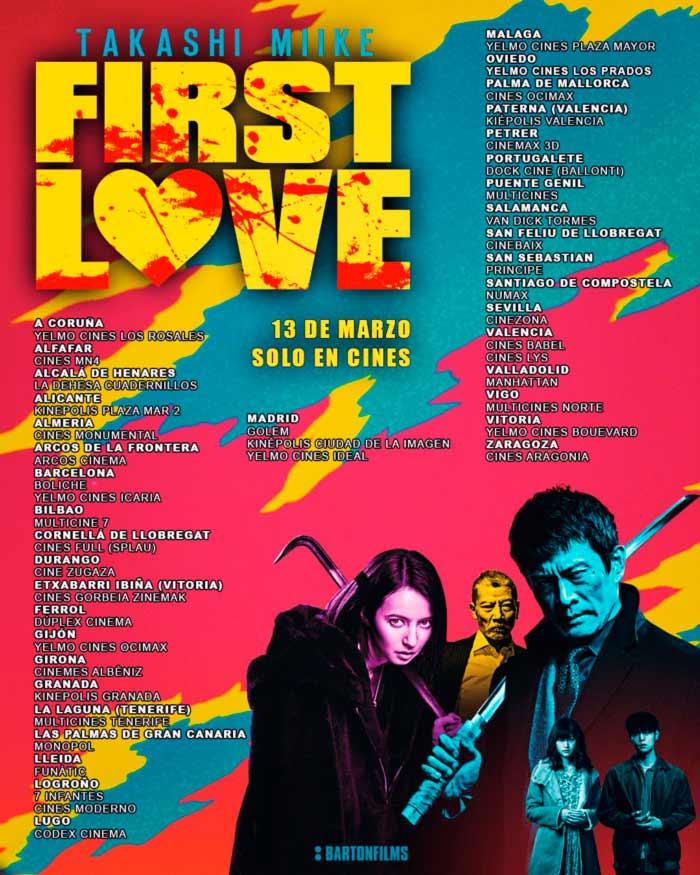 First Love (Hatsukoi) - Takashi Miike - Barton Films - cines