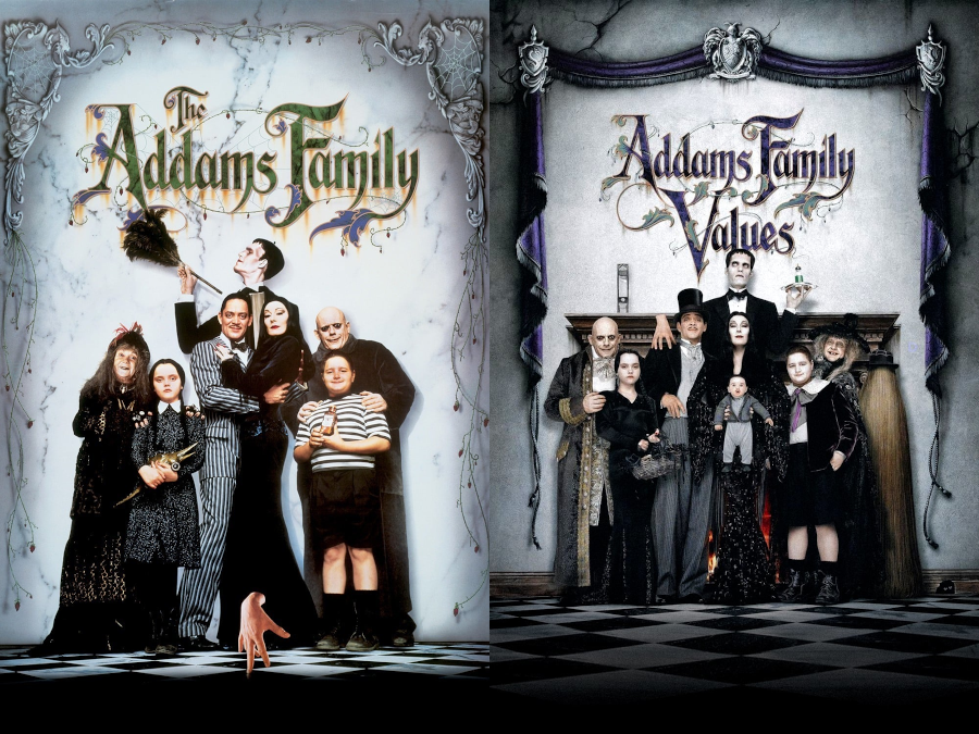 Talk Without Rhythm Episode 491 The Addams Family 1991 And Addams Family Values 1993