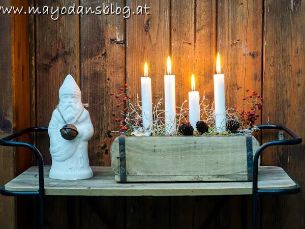 DIY Adventsfloristik ganz einfach selbst gemacht