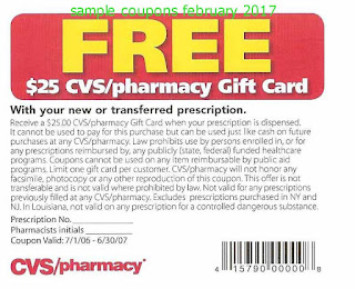 Cvs Pharmacy coupons february 2017