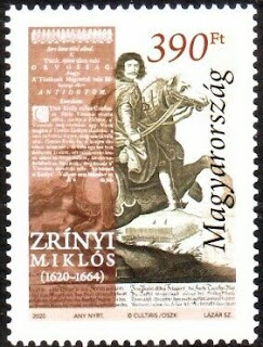 Hungary - 2020. Miklós Zrínyi - 400th Birth Anniversary