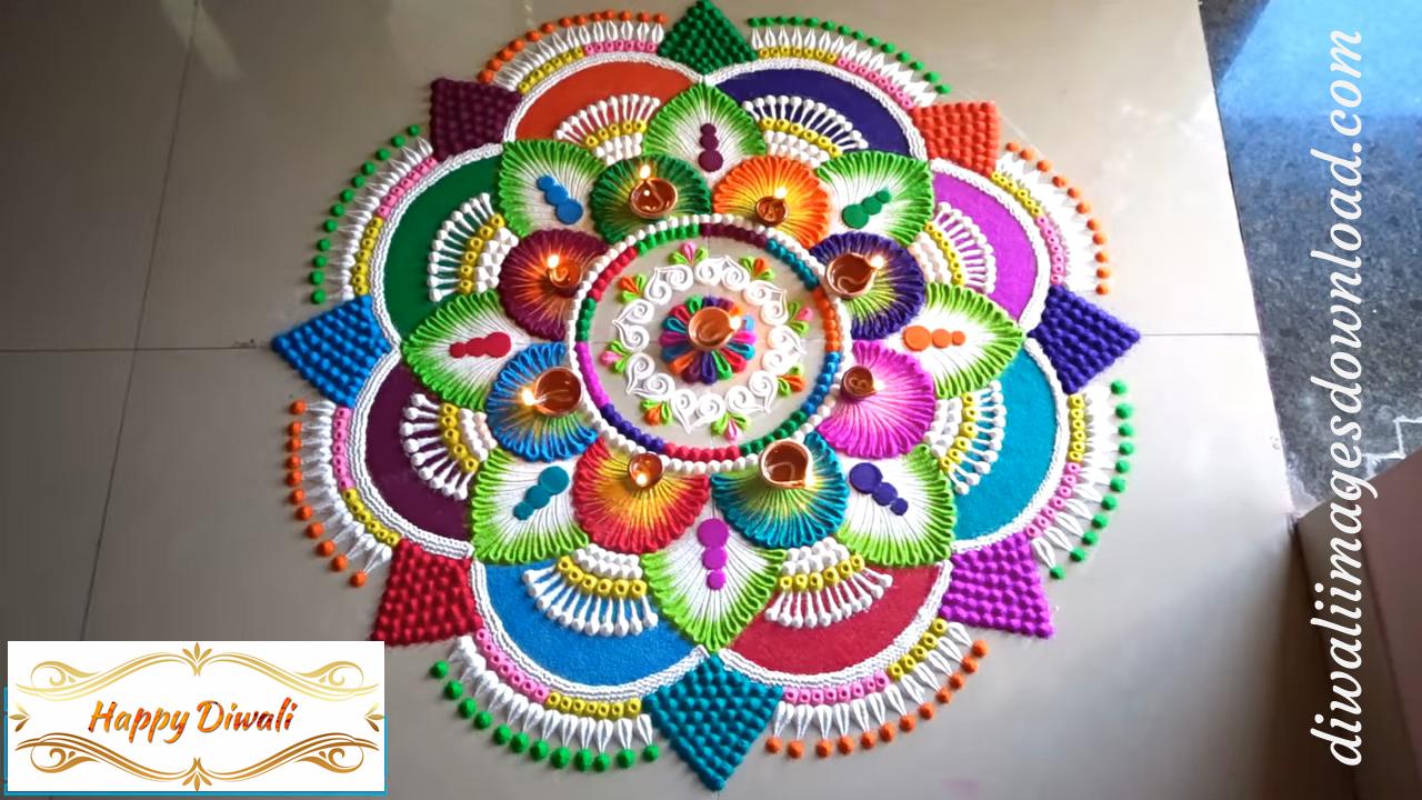 Best Rangoli Design for Diwali 2019