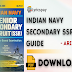 Indian Navy Secondary SSR Guide in English : Arihant Expert PDF Download