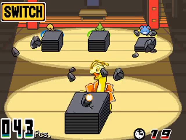 Pokéathlon Block Smash
