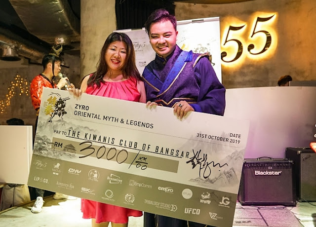 Dr Zyro Wong, Oriental Myths & Legends, Charity Birthday Celebration, Fifty5 Kitchen & Bar, Plaza Arkadia, Lifestyle