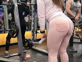 Chava buenas nalgas gym pantalones yoga