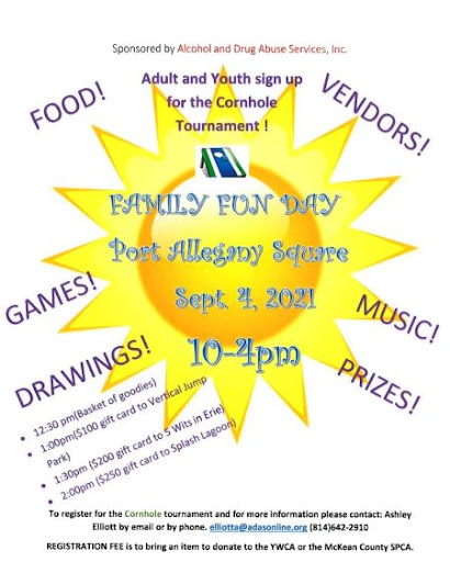 9-4 Family Fun At The Port Allegany Square