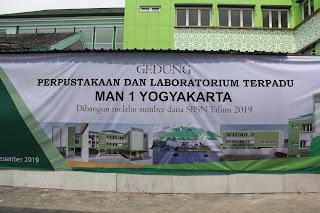 Menteri Agama Resmikan Gedung SBSN KUA dan Madrasah di Yogyakarta