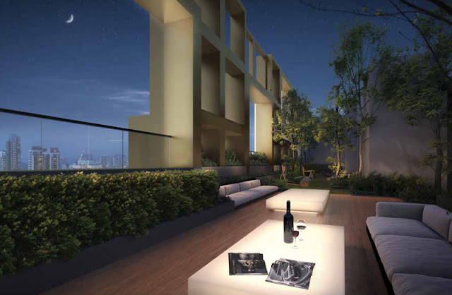 Irwell Hill Residences Roof Terrace