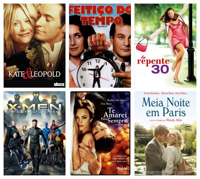 Livros, filmes e séries para viajar... no tempo!