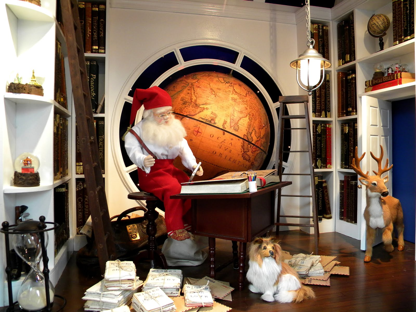 Santa Claus Lord and Taylor Christmas window
