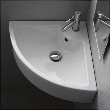drop in single bowl corner bathroom sink for bathroom