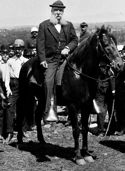 John Banks Civil War Blog No Man More Honored Longstreet S 1888 Gettysburg Visit