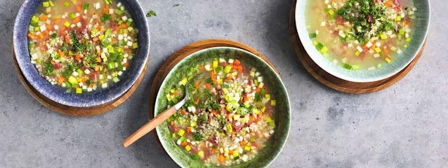 Graubünden barley soup