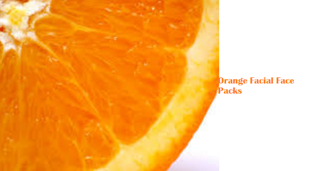 Orange Facial Face Packs