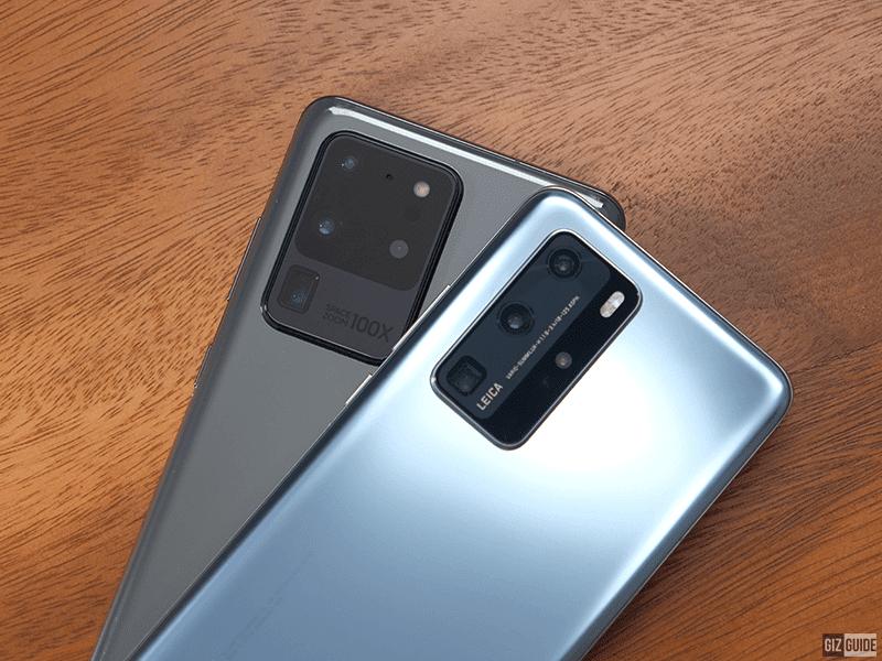 Samsung Galaxy S20 Ultra vs Huawei P40 Pro - Blind Camera Comparison!